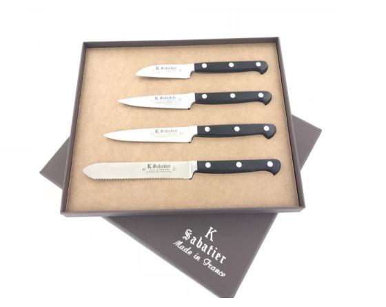 Coffret De 4 Couteaux De Cuisine Proxus Sabatier K