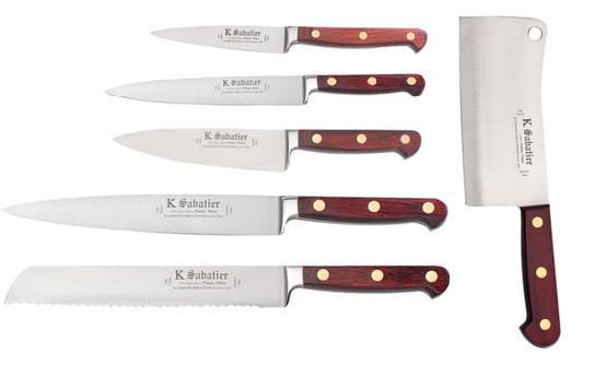 Couteaux professionnels coffret couteaux de cuisine - Lot de couteaux de cuisine ...