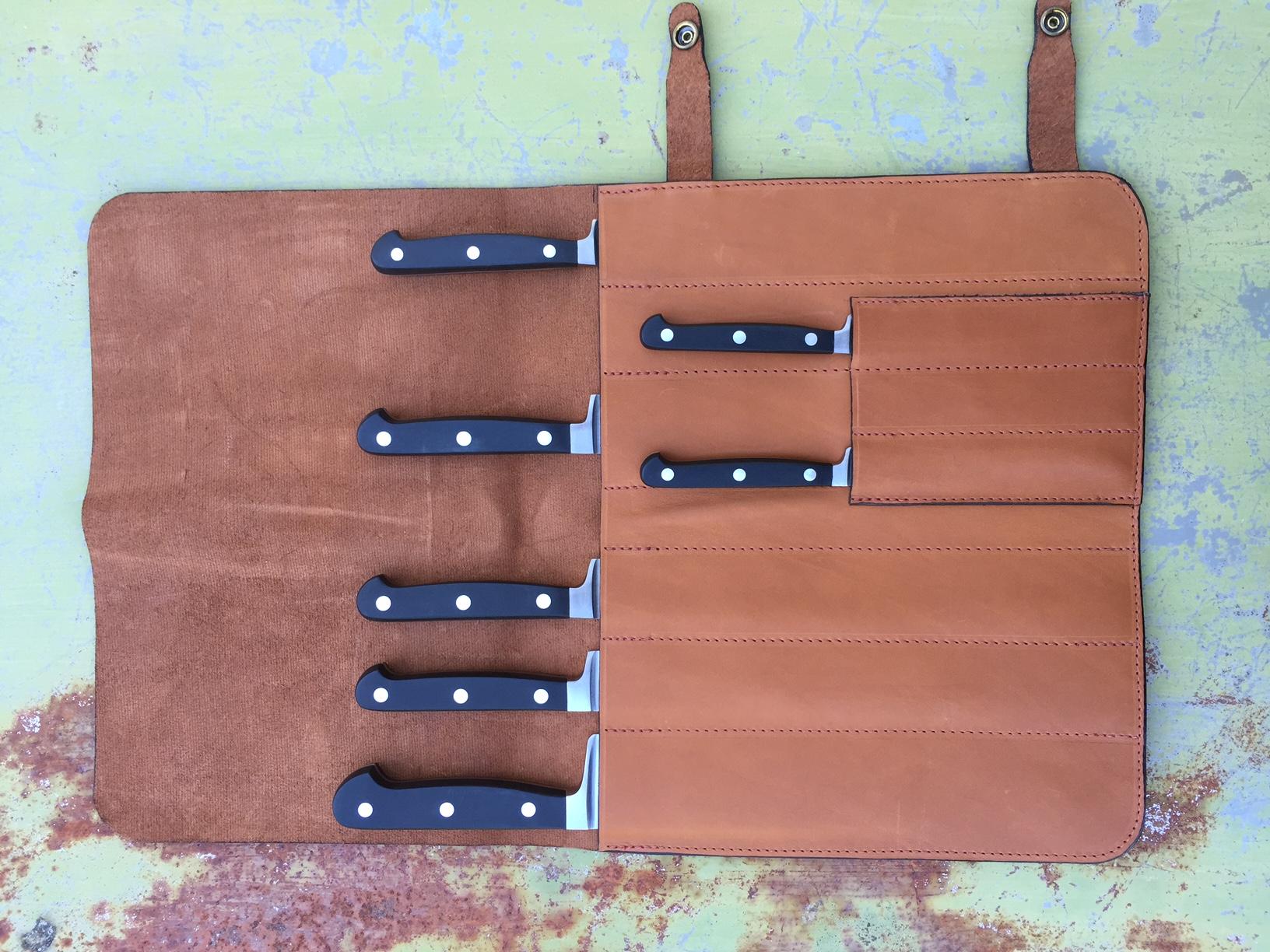 bloc et coffret de rangement de couteaux de cuisine professionnels. Black Bedroom Furniture Sets. Home Design Ideas