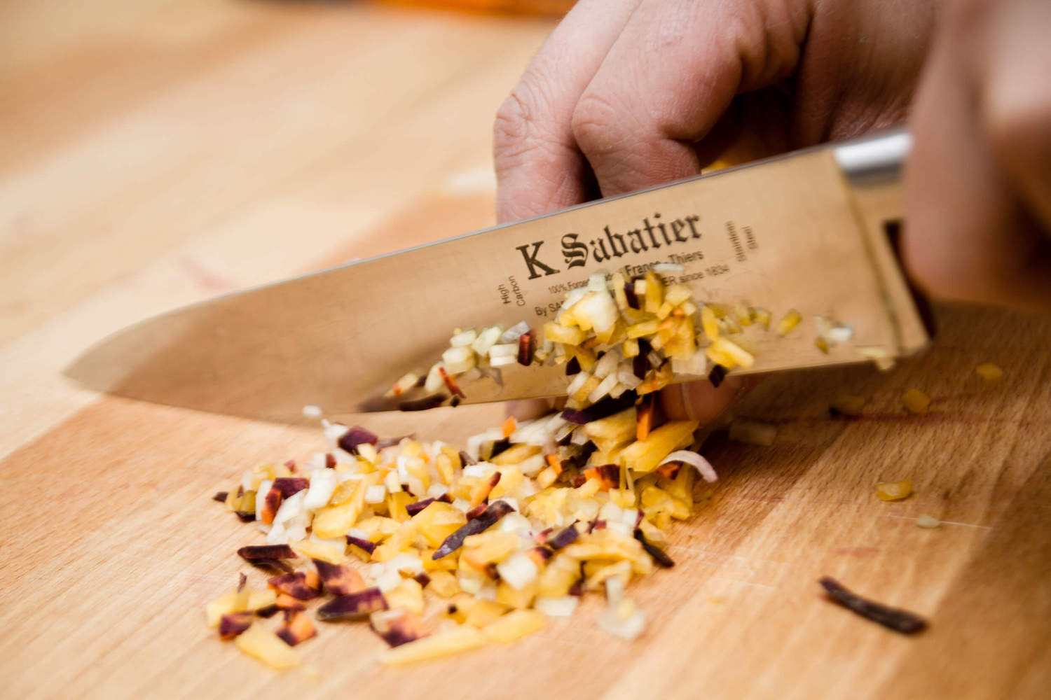 K sabatier kitchen knife