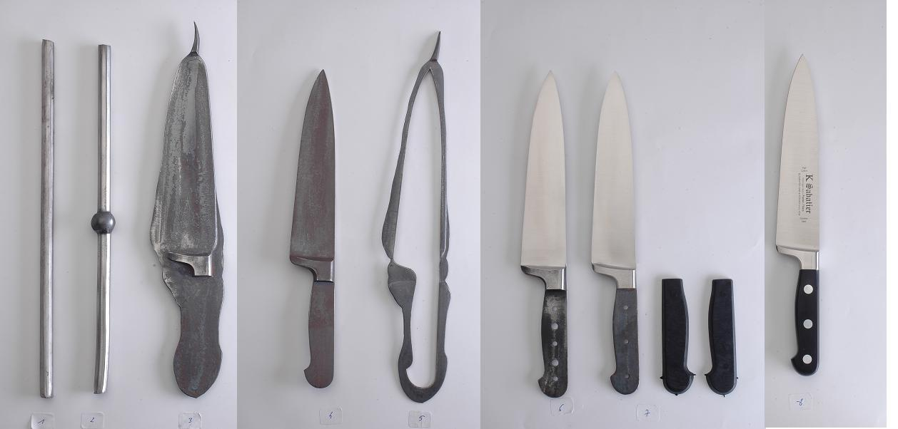 K Sabatier kitchen knives manufacturing
